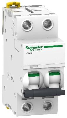 Автоматические выключатели Scheider Electric серии Acti 9 iC60H