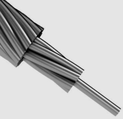 Грозозащитный трос ГТК20- 0/50- 9, 1мм- 18кА2*с- 64кН в наличии