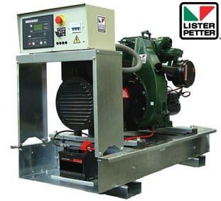 Скидки до 10% на дизель-генераторные установки Lister-Petter (Великобритания)