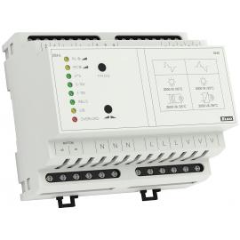 Управляемый регулятор яркости DIM-6 для диммирования ламп с нагрузкой RLC, возможна также коммутация потребителей