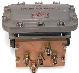 Узел управления краном взрывозащищённый ЭПУУ-4-1.
