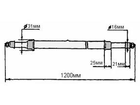 Лампа ДРТ 2500 за 1600