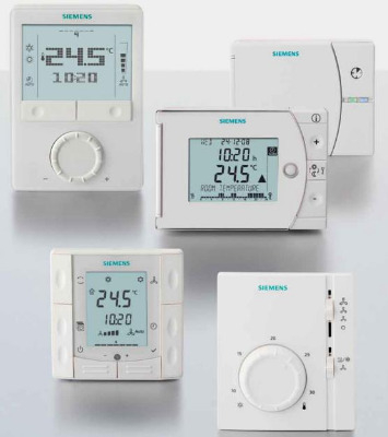 Комнатные термостаты (регуляторы) Siemens