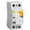 Дифференциальные выключатели IEK серии ВД1-63 тип А
