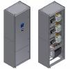 Автоматизированные конденсаторные установки (АКУ) мощностью от 50 до 400 квар предназначеные для компенсации реактивной мощности в сетях с переменным током частотой 50 или 60 Гц с номинальным напряжением 0, 4 кВ.