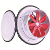 Вентилятор оконный с крышкой ВК 200