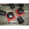 Буфер резиновый (концевой упор) бр-250, отбойник крановый, фланец для буфера кранового БР-250