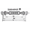 Производство судовых талрепов по ОСТ5.2314-79 с Сертификатом РМРС
