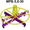 Станок для размотки кабельных бухт МРБ 0, 5-30