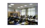 Светодиодные светильники в школе