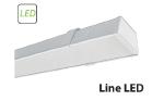 Новинка - светодиодный светильник для общественного освещения Line LED-03 28 Вт с магистральной проводкой.