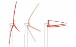 Проект 50-мегаваттного морского ветрогенератора по прототипу пальмы