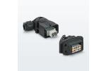Компактные корпуса промышленных соединителей для одиночных модульных контактных вставок