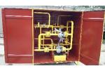 Газорегуляторный пункт шкафной ГРПШ-07-2У1 с газовым обогревом, с ИПД на ФГ, с измерительным комплексом СГ-ЭКВз-Р-100/1, 6 на базе ротационного счетчика газа RABO-G65 (расширение 1:200) без ППД.