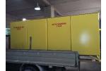 Газорегуляторный пункт шкафной ГРПШ-50-300-4У1-ЭК четырехниточный, двухстороннего обслуживания, регуляторы РДБК1-50/35 и РДУ-32/С2-4, газовый обогрев, ИПД на ФГ, на катушке под СГ-ЭКВз-Р-400/1, 6.