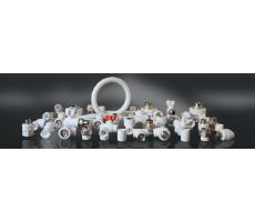 Турецкая труба из полипропилена и фитинги для отопления и водоснабжения в продаже со склада в Самаре