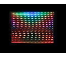 Мы производим облегченные светодиодные дисплеи с DMX управлением