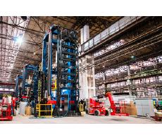 Завершается строительство первого котла для мусоросжигательного завода на автоматизированной установке по наплавке газоплотных панелей Fronius