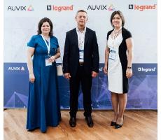 Legrand и AUVIX объявляют о новом этапе сотрудничества