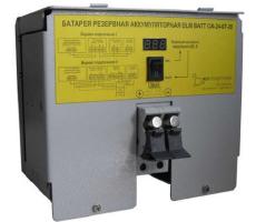 Батареи резервные аккумуляторные ELM BATT 12/24В емкостью 1, 3…14 Ачас. установка на din-рейку