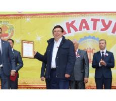 Благотворительная деятельность НПО «Каскад» отмечена благодарностью администрации Ядринского района