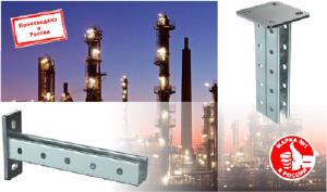 Консоли и потолочные подвесы STRUT IEK® - больше возможностей для монтажа кабельных трасс и трубопроводов