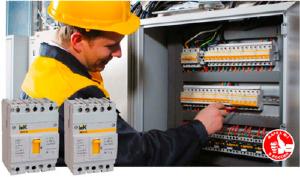 Новые силовые выключатели ВА44 IEK®: компактность и надежная защита